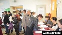 Выборы в России (архивное фото)