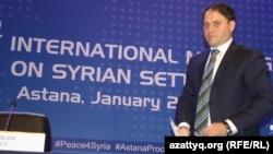 Заместитель министра иностранных дел Казахстана Роман Василенко. Астана, 23 января 2017 года.