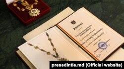 "Moldova - medal ""Honorory Order"", Chișinău"