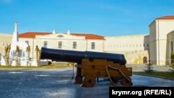 Гармата часів Кримської війни
