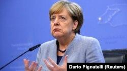 Ангела Меркель, Германия канцлері. Брюссель, 20 қазан 2017жыл.
