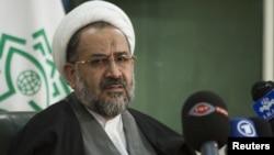 Intelligence Minister Heydar Moslehi