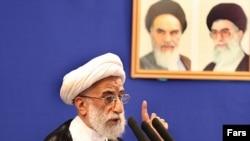 احمد جنتی، دبیر شورای نگهبان و امام جمعه تهران