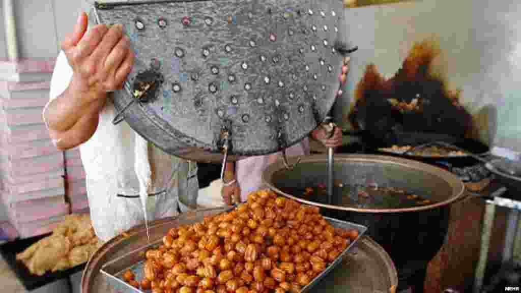 Иран. Праздничное угощение