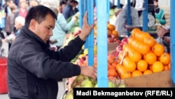 Алматыдағы базар. (Көрнекі сурет)