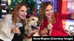 Певицы Анна и Мария Опанасюк