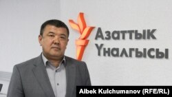 Марказий сайлов комиссияси раисининг ўринбосари Абдижапар Бекматов.