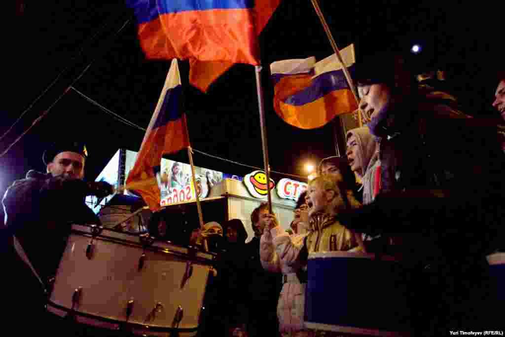Путин һәм Медведев тарафдарлары