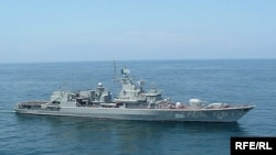 Флагман українського флоту фрегат «Гетьман Сагайдачний»