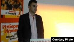 Дино Блажевски, претседател на УМС на ВМРО-Народна партија.
