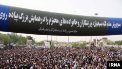 همایش پیادهروی خانوادگی آزادسازی خرمشهر در تبریز/ گزارشهای تأیید نشده، حاکی از درگیریهایی در حاشیه این مراسم است