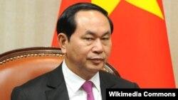 Чан Дай Куанг, Вьетнам президенті.