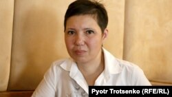 Разия Ахметова, мать Аслана. Алматы, 23 декабря 2018 года.