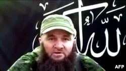 Doku Umarov pictured in a screen grab of a video aired in July 2013