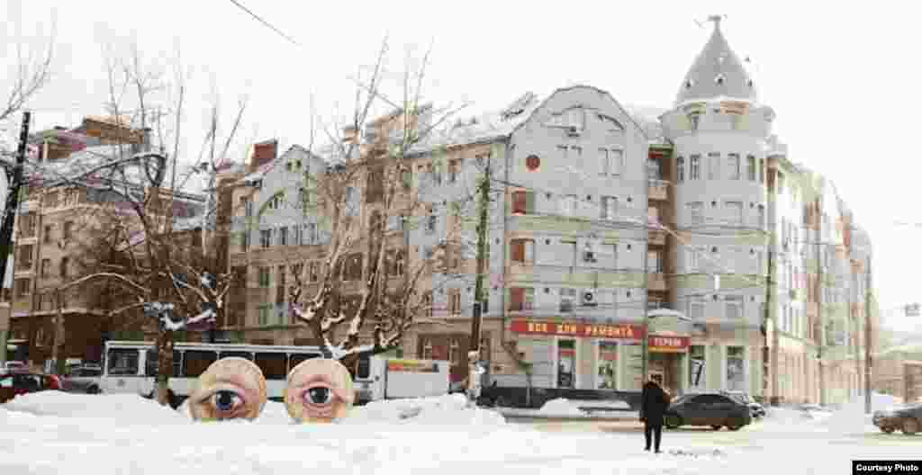"""The Eyes of the City"" in Nizhny Novgorod (2012)"