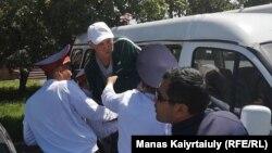 Задержания в Алматы 9 мая 2019 года.