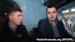 Ярослав Кречко і Дмитро Носач (праворуч)