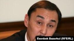 Бахытжан Абдраим, ректор Евразийского национального университета. Астана, 9 ноября 2010 года.