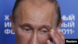 Ресей премьер-министрі Владимир Путин. Сочи, 16 қыркүйек 2011 жыл.