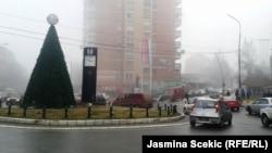 Sheshi në Mitrovicën e veriut, janar 2016