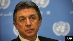 Former Ukrainian Ambassador to the UN Yuriy Serheyev (file photo)