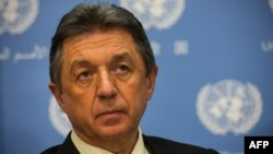 Постійний представник України при ООН Юрій Сергеєв