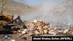 إتلاف مواد منتهية الصلاحية في دهوك