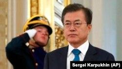 Жанубий Корея президенти Мун Чжэ Ин.
