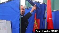 Новый губернатор Санкт-Петербурга Александр Беглов