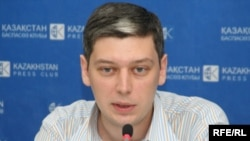 Директор правозащитной организации «Фридом Хаус в Казахстане» Вячеслав Абрамов.