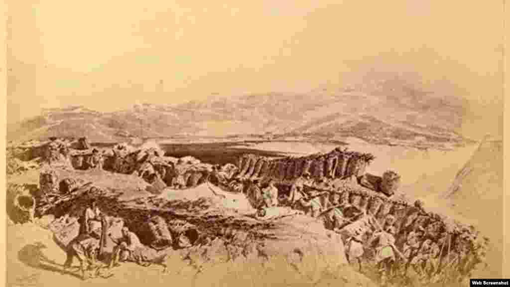 Осада аула Ведено, 1859 г.