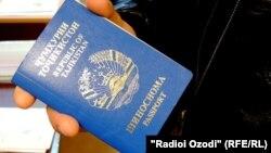 Тажик паспорту