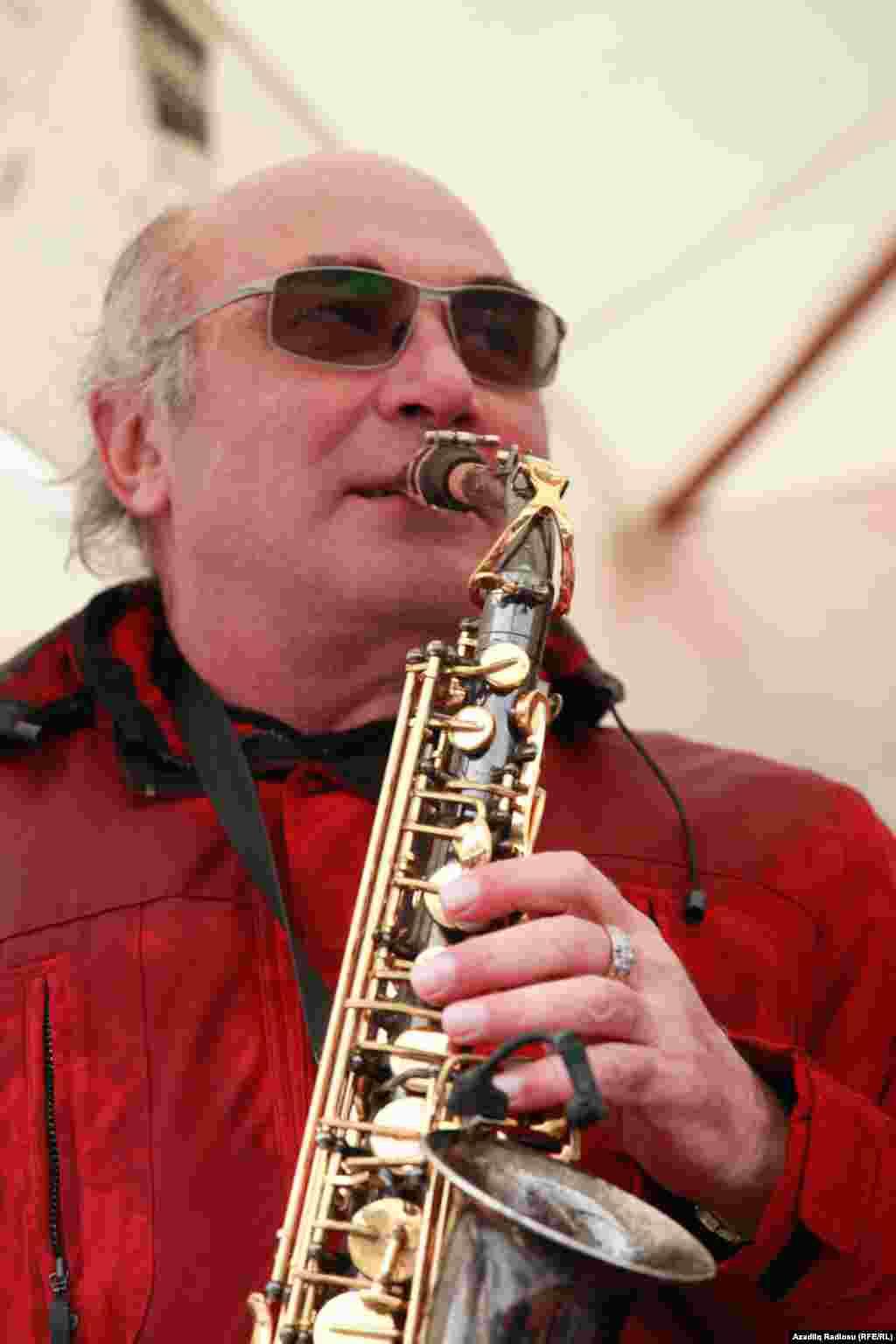 Azerbaijan. Baku. Jazz concert in Baku Vagif Mustafazade
