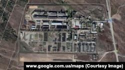 Скупчення військової техніки поблизу міста Кам'янськ-Шахтинський, Ростовська область, Росія (зображення із Google Maps)
