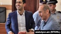 Второй президент Армении Роберт Кочарян в Апелляционном уголовном суде , Ереван, 19 июля 2019 г․