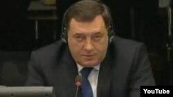 Milorad Dodik tokom svjedočenja