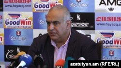 Основатель партии «Наследие» Раффи Ованнисян, Ереван, 13 июля 2018 г.