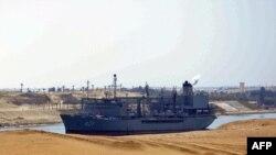 ناو ایرانی «خارگ» در راه سوریه.