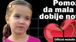 Tijana Ognjanović, devojčica kojoj je neophodna skupa operacija