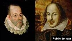 Уильям Шекспир и Мигель де Сервантес