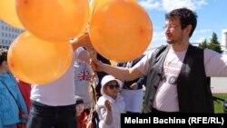 Активист томского движения «Солидарность» Леонид Рыбаков