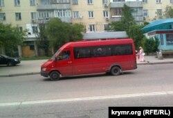 Маршрутное такси в Севастополе