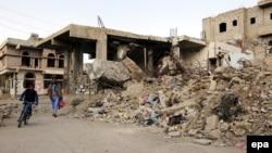 Зруйновані будинки в столиці Ємену, Сані, листопад 2016 року