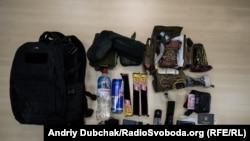 Типовий набір «тривожного рюкзака»
