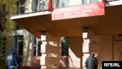 Избирательный участок в одной из московских школ, 11 октября 2009 г