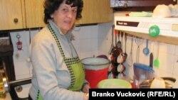 Milijana Ranđelović u kuhinji