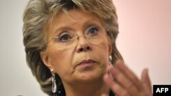 "EU Justice Commissioner Viviane Reding said, ""partners do not spy on each other."""
