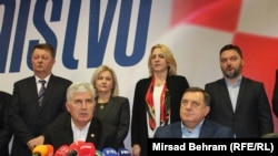 Dragan Čović (L) i Milorad Dodik (D)