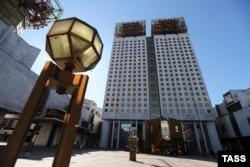Здание РАН на Ленинском проспекте в Москве