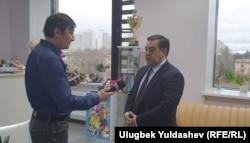 """""""O'zbekkino"""" rahbari Firdavs Abduholiqov Ozodlik bilan suhbatda"""